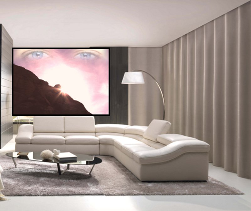 Home Interior With God Watching by Wolf Kesh