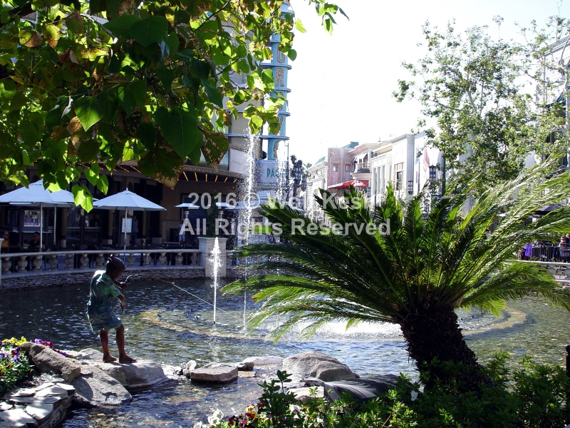 The Grove #025 Los Angeles Stock Photo by Wolf Kesh