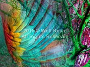 Angels Are Here Digital Art by Wolf Kesh